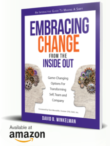 "Get the first 3 chapters of David's guidebook ""Embracing Change from the Inside Out"""